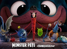 """Phim ngắn """"Monster Pets"""" ra mắt, giới thiệu phần cuối của loạt phim 'Hotel Transylvania'"""