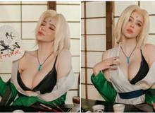 """Naruto: Ngắm cosplay đệ ngũ Tsunade mà CĐM bối rối thốt lên """"Bà già U50 mà đẹp quá!"""""""