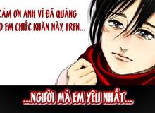 """Quá thương tiếc cho tình yêu của Mikasa và Eren, các fan Attack on Titan tin rằng """"còn anime là còn gỡ"""""""