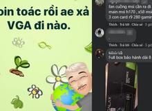 """Thị trường tiền ảo bất ngờ """"đỏ lửa"""", anh em game thủ Việt cuống cuồng xả VGA"""