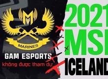 SỐC: VCS tiếp tục lỡ hẹn tham gia MSI 2021