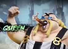 """One Piece chap 1011 sẽ chứng kiến sức mạnh thực sự của Queen Bệnh Dịch, khi tóc vàng không còn """"tấu hài"""" nữa?"""