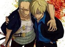 """One Piece: Sau nhiều chap không xuất hiện, cuối cùng Sanji cũng trở lại bên cạnh """"bạn đời"""" Zoro"""