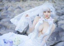 """Mỹ nhân Azur Lane diện váy cô dâu trắng muốt khiến anh em chỉ biết """"Ước gì anh lấy được nàng"""""""