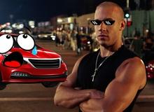 Khảo sát cho thấy Vin Diesel chính là sao Hollywood phá hoại nhiều ô tô nhất trên màn bạc