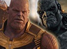 So sánh Thanos và Darkseid, hai gã phản diện sừng sỏ của Marvel với DC