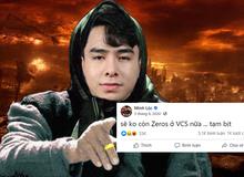 """Netizen soi lại loạt status như """"phán trước tương lai"""" trên trang cá nhân của Zeros sau """"phốt"""" vạ miệng"""