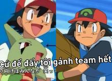 """Không phải Pikachu hay Pokémon khác, Ash Ketchum mới chính là kẻ """"gánh team"""" đúng nghĩa đen?"""