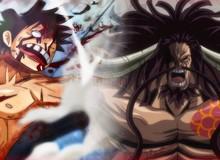 Spoil nhanh One Piece 1013: Luffy tạm hết gáy sau khi bị Kaido quật bay khỏi nóc Onigashima