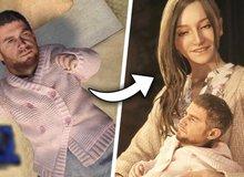 Bản mod biến nhân vật Chirs thành đứa bé trong Resident Evil Village