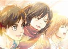 Manga Attack on Titan bất ngờ tung thêm 8 trang truyện bổ sung, Titan vẫn còn và Mikasa có chồng con đề huề?