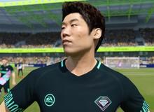 Huyền thoại Hàn Quốc Park Ji-Sung lần đầu tiên xuất hiện trong FIFA Online 4