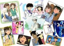 """Điểm nhanh những """"cặp đôi vàng"""" trong Thám Tử Lừng Danh Conan, từ già đến trẻ đều khiến fan không khỏi gato"""