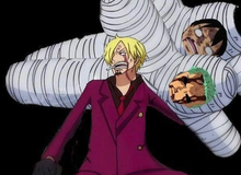"""One Piece: Hài hước với bức ảnh chế """"Vua cứu người"""" Sanji băng bó cho Luffy, cái gì cũng đến tay anh tóc vàng"""