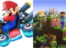 Đồ họa xấu, lối chơi không mới mẻ, thế nhưng Minecraft và Mario vẫn là những thương hiệu game bán chạy nhất trong lịch sử