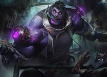 """Chi tiết hình ảnh và kỹ năng của Dr. Mundo """"mới"""": Lại thêm một phiên bản """"siêu hút máu"""""""