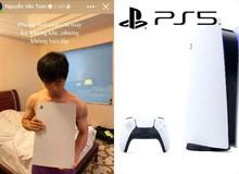 """Văn Toàn chia sẻ hình ảnh Công Phượng mới mua máy """"lọc không khí"""" PS5"""