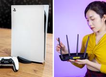 """Router ASUS RT-AX55: Công nghệ Wi-Fi 6 - """"Cặp đôi song sát cực mạnh"""" cùng siêu phẩm PS5"""