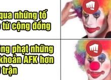 """LMHT: Phát hiện trường hợp AFK hơn 100 trận mà không bị phạt, Riot bị game thủ chỉ trích là """"trò hề"""""""