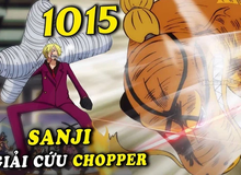 Soi những chi tiết thú vị trong One Piece chap 1015: Sanji và một lần toả sáng hiếm hoi (P.1)