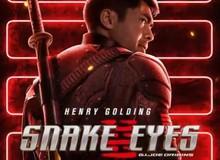 """Bom tấn hành động Snakes Eyes: G.I.Joe Origins hé lộ tạo hình nhân vật của """"trai đẹp"""" Henry Golding và dàn ninja cực ngầu"""