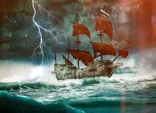 """Truyền thuyết về """"Người Hà Lan bay"""" và con tàu ma nổi tiếng là nỗi ám ảnh trên biển"""