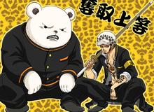 """Vừa được băng Law cứu khỏi tình cảnh """"làm mồi cho cá"""", Luffy tiếp tục """"gáy"""" về việc đánh bại Kaido"""