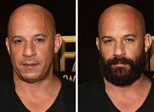 12 ngôi sao nổi tiếng trông thế nào khi nuôi râu và không để râu