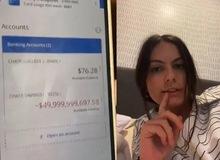 Kiểm tra tài khoản lúc 2 giờ sáng, cô gái tá hỏa khi bỗng dưng mắc nợ hơn 1 triệu tỷ