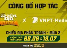 Free Fire: VNPT-Media chính thức là nhà tài trợ độc quyền cho Chiến địa phân tranh mùa 2