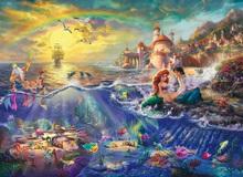 Đắm chìm trong thế giới thần tiên của phim hoạt hình Disney qua lăng kính của họa sĩ Thomas Kinkade