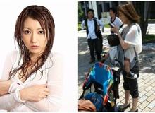 """Được coi là """"từ điển gợi cảm"""" của làng phim 18+ Nhật Bản, nàng hot girl bất ngờ lộ ảnh mẹ đơn thân, nghèo khó khi giải nghệ"""