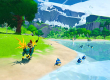 Xuất hiện tựa game phiêu lưu sinh tồn kết hợp giữa Breath of the Wild và Pokémon