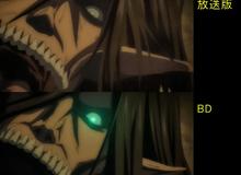 """Soi sự khác biệt giữa bản anime và Blu-ray Attack on Titan, fan thẳng thắn nhận xét """"nhìn xịn hẳn luôn"""""""