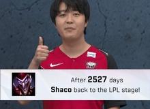 LMHT: Sau 2527 ngày, Shaco cuối cùng cũng đã quay trở lại với LPL để giúp JD Gaming đánh bại Team WE