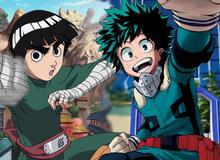5 điểm tương đồng đặc biệt giữa Rock Lee trong Naruto và Deku từ My Hero Academia