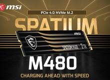 MSI ra mắt mẫu ổ cứng SSD mới với dòng sản phẩm SPATIUM