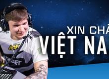 Siêu sao CS:GO s1mple bất ngờ gửi lời chào tới người hâm mộ Việt Nam từ IEM Cologne