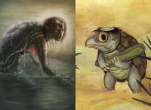 Những điều chưa biết về Kappa, loài thủy quái kỳ quặc trong truyền thuyết Nhật Bản