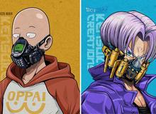 """Mê mẩn những chiếc """"mặt nạ máy móc"""" của dàn nhân vật anime, cảm giác vừa ngầu vừa an toàn"""