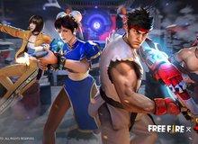 Người chơi Free Fire sẵn sàng tung chưởng trong màn hợp tác toàn cầu với Street Fighter V từ ngày hôm nay!