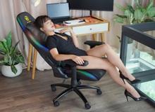 Chất chơi game thủ: Hút hồn với ghế gaming RGB E-DRA Rock Star EGC223