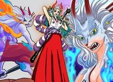 """One Piece: Trái ác quỷ Zoan thần thoại của Yamato dường như sở hữu sức mạnh có thể """"cầm chân"""" ông bố Tứ Hoàng?"""