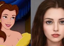"""Công nghệ AI (trí tuệ nhân tạo) đã mang đến câu trả lời cho việc """"liệu nhân vật Disney có thật sẽ trông như thế nào""""?"""