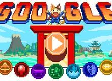 Hội thao quán quân Doodle khởi tranh và 7 tựa game 16-bit siêu thú vị trên Google hôm nay