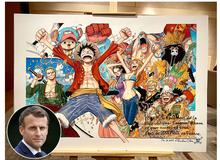 Tổng thống Pháp là một fan cứng của One Piece, từng được Oda tặng riêng cho một bức ảnh