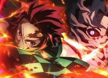 """Sau 2 tháng """"mất tích"""" cuối cùng Kimetsu no Yaiba: Mugen Train trở lại top những anime có doanh thu tốt nhất"""