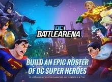 Thử sức chiến đấu với các siêu anh hùng DC trên tựa game dành riêng cho người chơi hệ Android