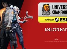 Phần thưởng của giải đấu Valorant MGA University Championship có gì đặc biệt?