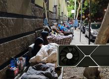 Dựng lều, đắp chăn, hàng dài người chờ mua card đồ họa NVIDIA